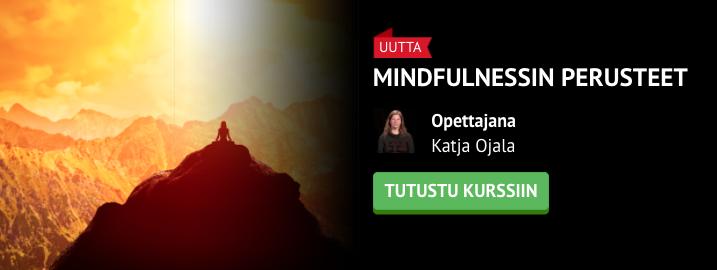 Mieli rauhalliseksi uuden kurssin avulla: Mindfulnessin Perusteet