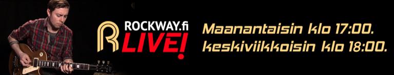 17.5 keskiviikon Rockway LIVE! on peruttu
