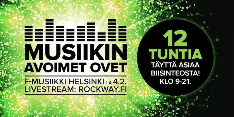 Musiikin Avoimet Ovet 4.2.2017!